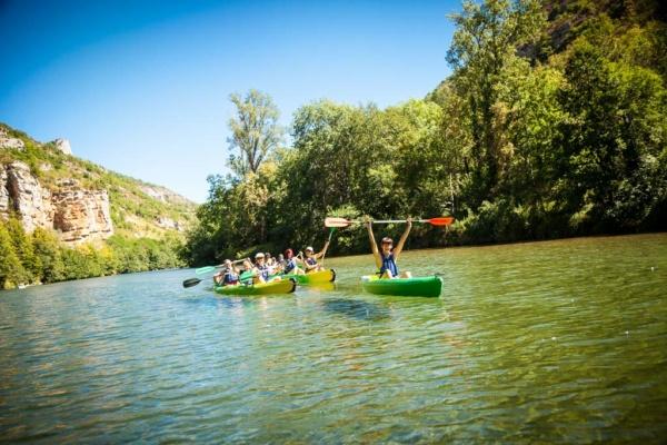 le Soulio, kanoe kayak sur le Tarn
