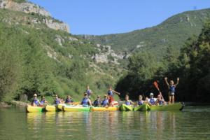 Canoë Gorges du Tarn