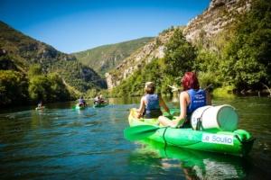 le Soulio, canoe kayak sur le Tarn
