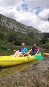La Malène en canoë ou kayak en toute liberté.