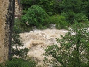 Crue du Tarn 2020 - Le Pas de Soucy